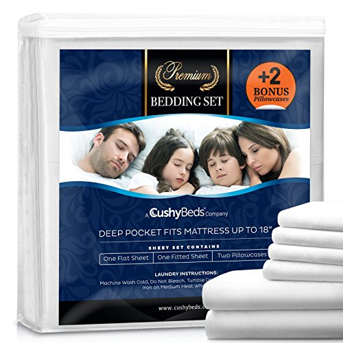 premium-bed-sheet-set-by-cushybeds-brushed-microfiber-1800-bedding-hypoallergenic-wrinkle-fade-stain