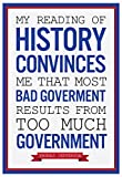Too Much Government Thomas Jefferson Poster 13 x 19in