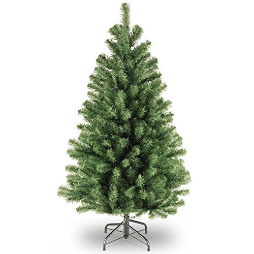 National Tree North Valley 4.5 Foot Spruce Tree (NRV7-500-45) Spruce Christmas Trees