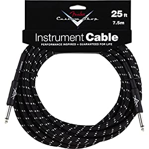 Fender 099-0820-039 Custom Shop 7.5 m Inst. Cable Black Tweed