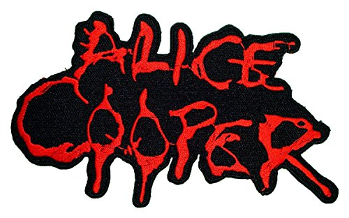 ALICE COOPER Heavy Metal Pun Rock Music Band Logo Patch Sew Iron on Embroidered Appliques Badge Sign Costume (Jedi Costume Design)