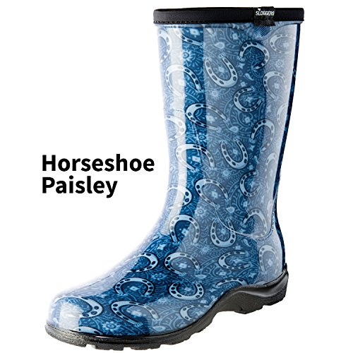 Sloggers 5021HRSBK06 Waterproof Comfort Boot, Black