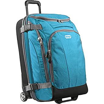 "eBags TLS Mother Lode Junior 25"" Wheeled Duffel (Tropical Turquoise)"