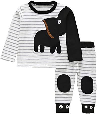 Fasenix Cute Little Caesar Newborn Baby Boy Girl Romper Jumpsuit Long Sleeve Bodysuit Overalls Outfits Clothes