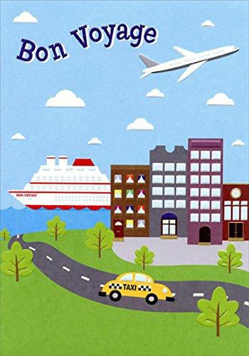 Boat, Airplane, Taxi Bon Voyage Card
