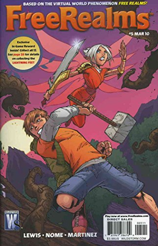 Free Realms #5 VF/NM ; WildStorm comic book