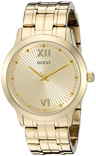 GUESS U0634L2 Vintage Inspired Gold Tone