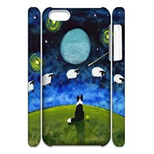 DIY Sheep 3D Phone Case for iPhone 4 4s, Sheep 3D Iphone 4 4s Cell Phone Case, Customized Sheep 3D iPhone 4 4s Case