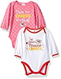 Kansas City Chiefs 2017 Infant Baby 2 Pack Long sleeve Bodysuit,