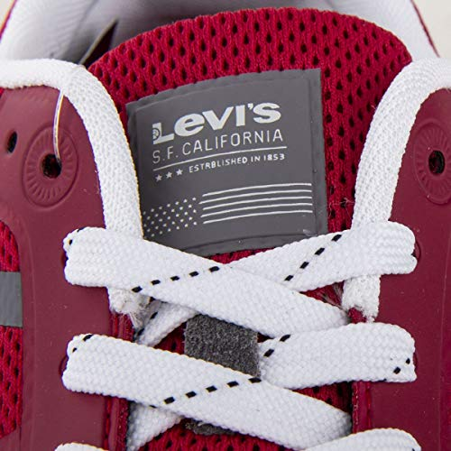 Rojo Zapatillas para Hombre Lite Levi'S Almayer nXCxqq0