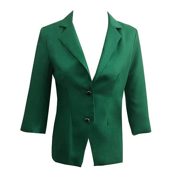 Mujer Slim Fit Chaquetas Estampadas Elegante Fiesta Casual Blazers Chaqueta: Amazon.es: Ropa y accesorios