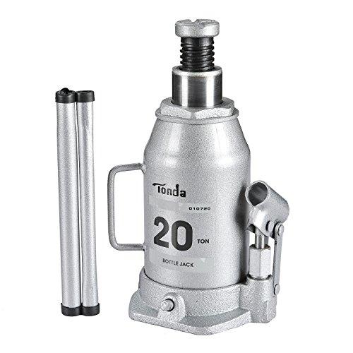 tonda hydraulic bottle jack silver