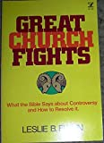 img - for Great church fights (An Input book) book / textbook / text book