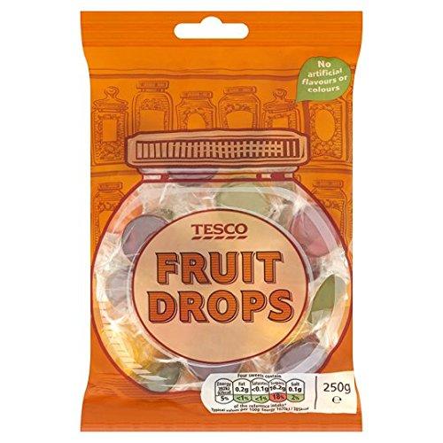 Tesco Fruit Drops 250G