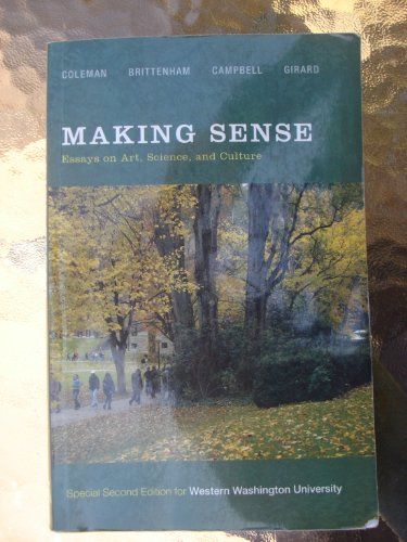 making sense essays on art science and culture
