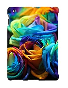 FbpIaoh3302tTmOd New Premium Flip Case Cover Multicolored Roses Skin Case For Ipad 2/3/4 As Christmas's Gift