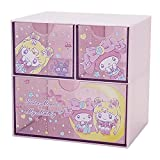Sailor Moon x My Melody Compact Desk Organizer with Drawers Japan Limited Edition