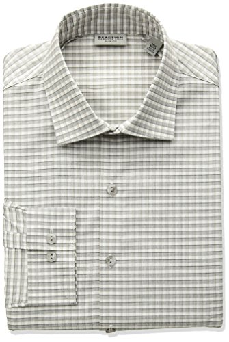 Kenneth-Cole-Reaction-Mens-Technicole-Slim-Fit-Stretch-Multi-Check-Dress-Shirt