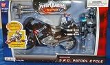 Power Rangers Power Rangers SPD Shadow Patrol Cycle & Rider