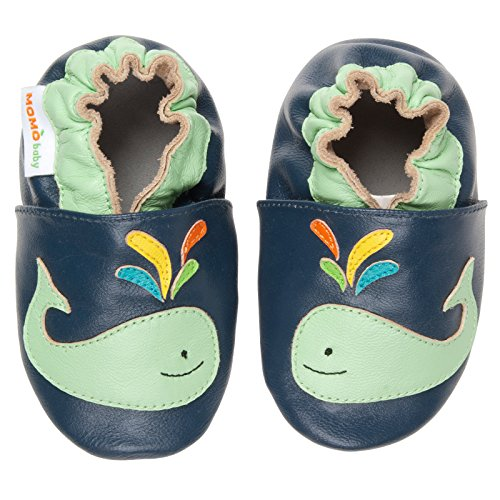 Sole Leather Shoes - A Whale a Time (6-12 Months) ()