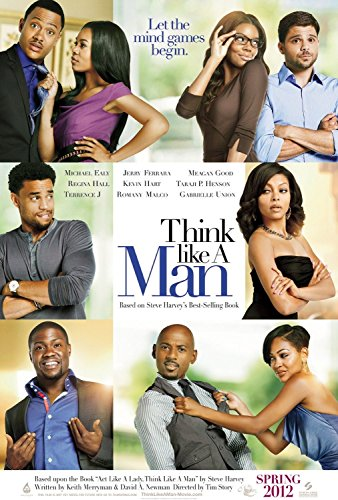 Think Like a Man 2012 Advance S/S Rolled Movie Poster 11x17