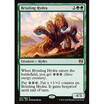 amazon com magic the gathering bristling hydra 147 264