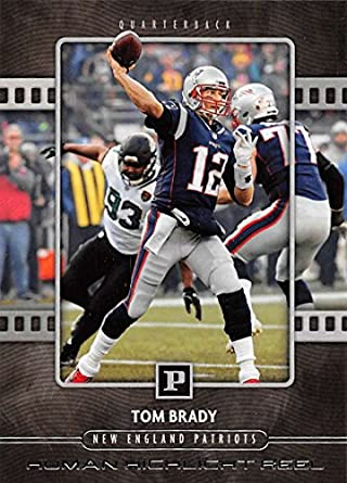 hot sale online f1fb1 819fc Amazon.com: 2018 Panini Football Human Highlight Reel #8 Tom ...