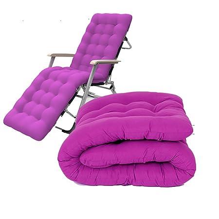 Amazon.com: MRZZ - Cojín reclinable para tumbona de jardín ...