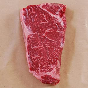 Australian Wagyu Beef Strip Loin, MS4, Whole, Cut To Order - 13 lbs, 1 1/4-inch steaks