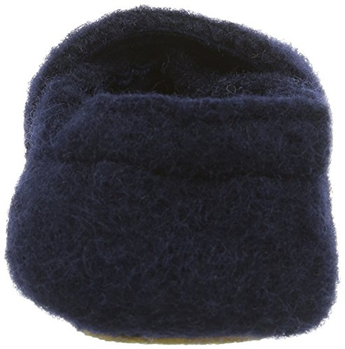 Giesswein Bocka - Zapatos primeros pasos de lana para niño azul - azul (océano)