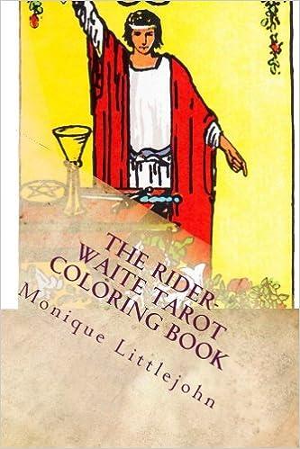 Book The Rider-Waite Tarot Coloring Book