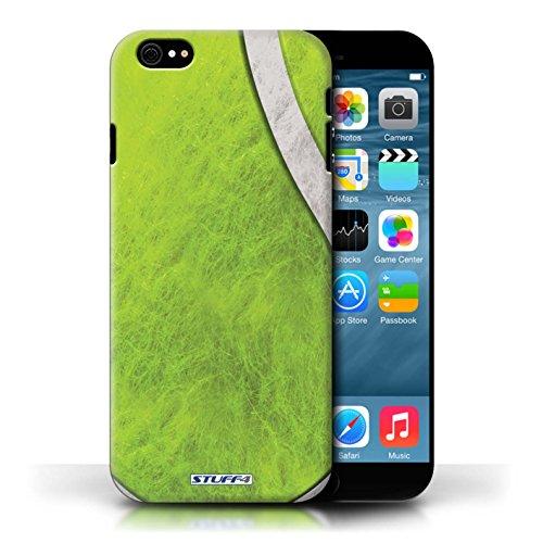 Kobalt® Imprimé Etui / Coque pour Apple iPhone 6/6S / Tennis conception / Série Balle Sportif