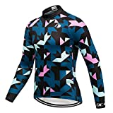 Coconut Ropamo Men's Long Sleeve Cycling Jersey, Bike Biking Shirt, Bicycle Tops, MTB Shirts
