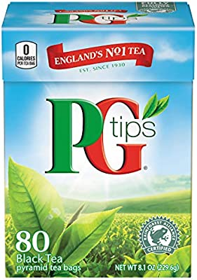 PG Tips Premium Negro Bolsas De Té: Amazon.com: Grocery ...