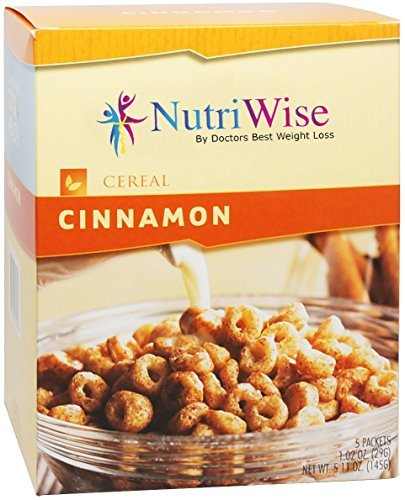 Diet Cereal (NutriWise - Cinnamon Protein Diet Cereal (5/Box))