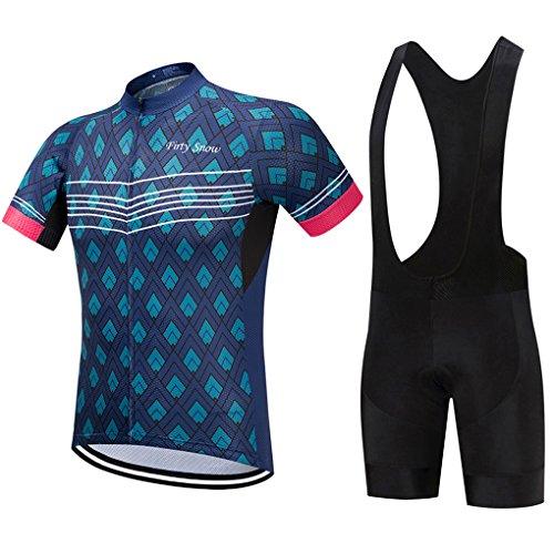 Bicycle Cycling Bike Clothes Men Mountain Shorts Suit Comforter Jerseys Set