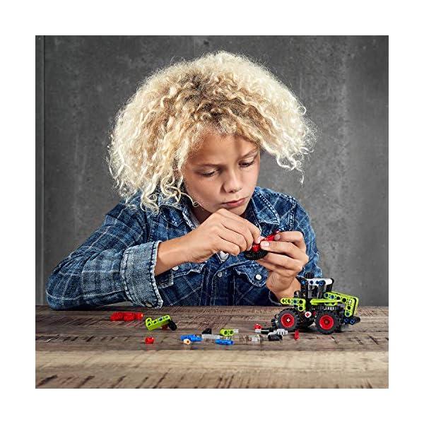 LEGO Technic Mini Claas Xerion Set di Costruzioni Trattore, per Bambini +7 Anni, 42102 6 spesavip