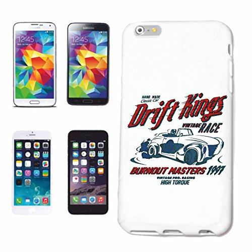 caja del teléfono iPhone 7+ Plus Rey de la desviación de carrera antiguos BURNOUT MASTERS del COCHE DE COCHE CLÁSICO del COCHE DE COCHE de EE.UU. Mucle CAR V8 RUTA 66 AMERICA EE.UU. Caso duro de la