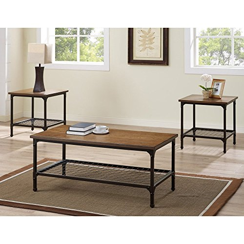 Bernards 3 Piece Cocktail (Bernards Stockton 3 Piece Coffee Table)