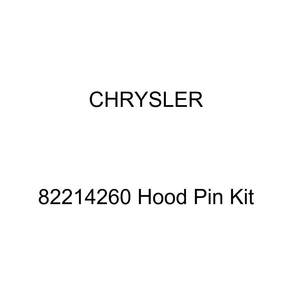 Chrysler Genuine 82214260 Hood Pin Kit