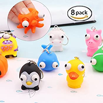 Amazon Com Schylling Panic Pete Squeeze Toy Toys Amp Games
