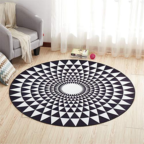 ug Door Mat Living Room Area Rug Carpet Bedroom Anti-Slip Floor Rug Mat Color G 600x600mm ()