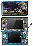 Monster Hunter 4 Ultimate Limited Edition MH4U Game Skin for Nintendo 3DS Console