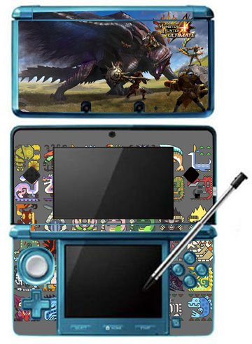 Monster Hunter 4 Ultimate Limited Edition MH4U Game Skin ...