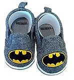 Best DC Comics Kids Stuffs - Batman Boys Baby Infant Crib Shoes Slippers, DC Review