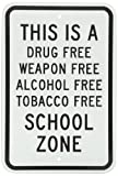 free weapons - SmartSign Aluminum Sign, Legend