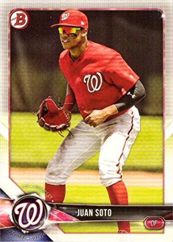 2018 Bowman Prospects #BP52 Juan Soto Baseball Card