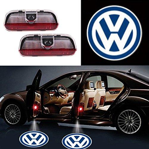 (Auto Sport Car Door Logo Shadow Projector LED welcome Light (volkswagen))