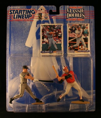 Orioles Lineup Baltimore - CAL RIPKEN JR. / BALTIMORE ORIOLES & BROOKS ROBINSON / BALTIMORE ORIOLES 1998 MLB Classic Doubles * Winning Pairs Series * Starting Lineup Action Figures & 2 Exclusive Collector Trading Cards
