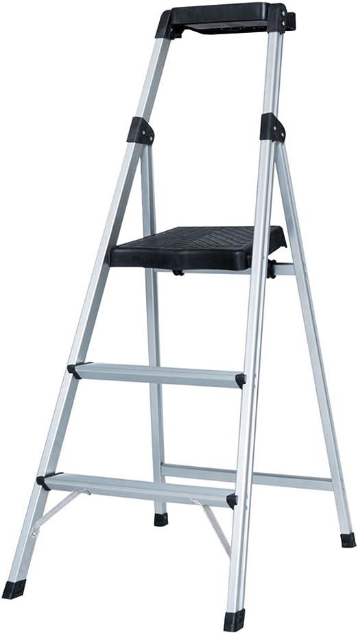goodlife plegable HOME Depot 3 paso escalera taburete de paso de aluminio ultra ligero con proyecto bandeja 300 Lb Capacidad hmi095: Amazon.es: Bricolaje y herramientas